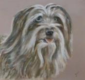 Chantalle Coenders, mijn hond, 30 x 30