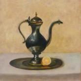 Dolgor Seine, vrij naar Claesz, 40 x 30