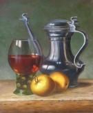 Jan Britsia, vrij naar oude meesters, 65 x 45