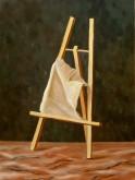 Joke Feenstra, doek op ezel, naar de waarneming, 40 x 30