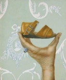 Len Samsom, Hand-schoentje, 31 x 26