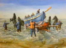 Maria van Vegchel,wat een werk, 50 x 70