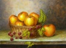 Paola Schmitz, vrij naar oude meesters, 30 x 40
