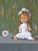 Pettie Nollet, popje, naar de waarneming 30 x 40