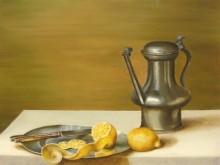 Priscilla Zwiggelaar, vrij naar Claesz, 40 x 30