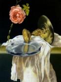 Ronald Tomasoa, vrij naar Claesz, 40 x 30