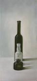 Theo van Winkel, flesjes, naar de waarneming, 45 x 60