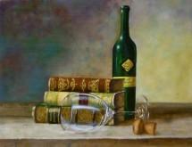 Yolanda de Jong, naar de waarneming, 30 x 40