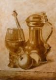 onderschildering Jan Britsia 65 x 45