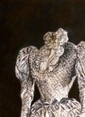 Hannah Siepman, tegengesteld grijs, 80 x 60