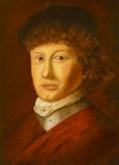 Henk van Tuil, naar Jan Lievens,    50 x 40