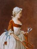 Karin Meiners,naar Chardin, 40 x 30
