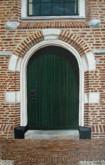 Kerkdeur 60  x 40 cm     Gea Kok ( geschilderd na beëindigen cursus )