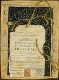 Marianne Riem, franse les, 40 x 30