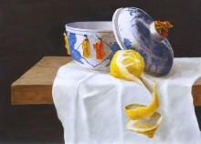 Paul Mansvelt, vrij naar Willem Kalf, 40 x 30