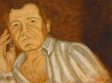 Yvonne Diependaal, mijn echtgenoot, 80 x 100
