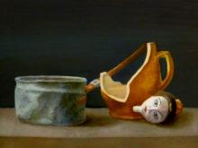 Emmy Hendriksen, naar de waarneming, 30 x 40