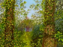 Geert van den Bogaart, eindelijk zon, 40 x 53