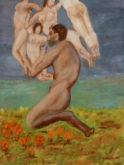 Hans Jonker, detail Bougereau, 40 x 30
