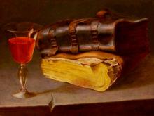 Henri Nijland, vrij naar Lievens, 30 x 40, 2e opdracht