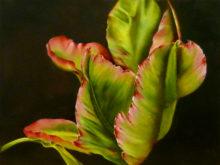 Marita Zuurhout, bladerig, 40 x 30, 7e opdracht