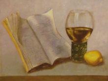 Sietske Hoppen, vrij naar oude meesters, 30 x 40