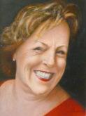Marita Zuurhout, portret van een vriendin, 40 x 30