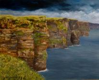 Marita Zuurhout, wachten op de storm, 40 x 50