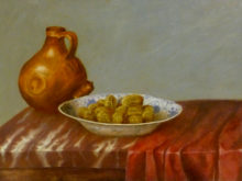 Bernadette Albers, vrij naar oude meesters, 30 x 40