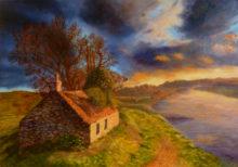 Diana Reemst, gloed, 40 x 60