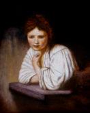 Hans van Megen, naar Rembrandt, 50 x 40