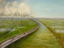 Natascha Göbel, snel weg…, 30 x 40