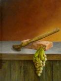 Peter Ullersma, druiven stampen, 40 x 30, naar de waarneming, 3e opdracht