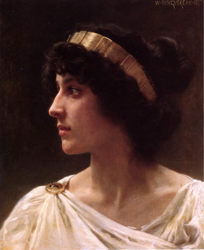 Portret naar William-Adolphe-Bouguereau