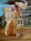 Geneviève Lumeij, Minerva, 70 x 50