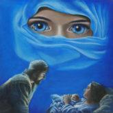 Mireille van Eerden, De vluchteling, 80 x 80