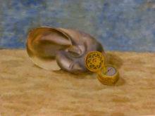 Fenny de Lange, vrij naar oude meesters, 2e opdracht, 30 x 40