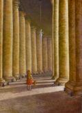 Dakmar Scholten, onderweg in Rome, 70 x 50