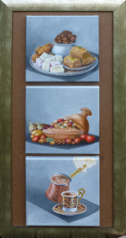 Gonny Wagner, Arabische keueken, 3 x 30 x 30