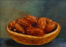 Lotte Lenkens, dadels, 50 x 70, olieverf op paneel