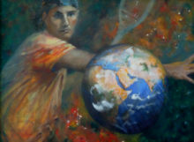 Maria van Vegchel, De vijfde dimensie, 57 x 78