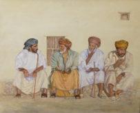 Mirjam Biesman, De bijeenkomst van Ra's al Hadd, 65 x 80