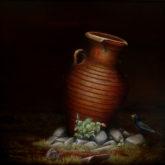 Peter Ullersma, de oude kruik, 60 x 60