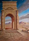 Peter Ullersma,Tetrapylon-MMXVII , 70 x 50