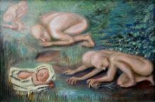 Ria Hofstee, de bron, 40 x 60