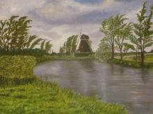 Marianne Kroon, bootje weg, 30 x 40