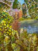 Niek Siebers, tuin, 40 x 30, zesde opdracht
