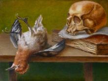 Heleen de Jong, vrij naar oude meesters, 30 x 40, tweede opdracht