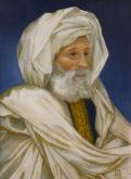 Hennie Janssen, arabier, naar 19e eeuwse meester, 60 x 44
