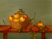 Henny Janssen, vrij naar oude meesters, 30 x 40, 2e opdracht